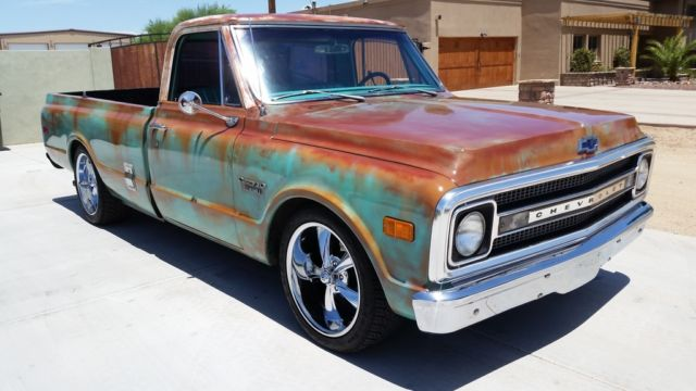 1969 Chevy Truck For Sale >> 1969 69 Chevy Clean C10 v8 Patina Shop Truck AC Lowered 20's AC AZ Rust Free for sale: photos ...