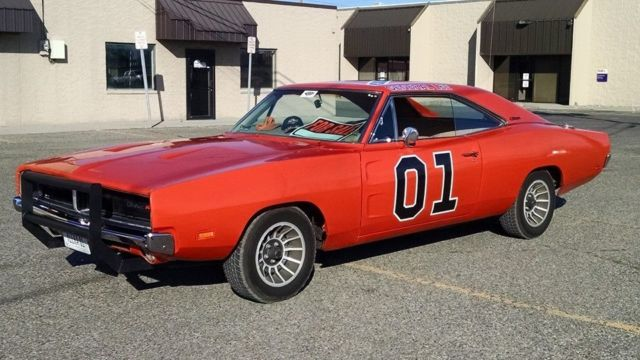 1969 69 dodge charger general lee dukes of hazzard 383 4. Black Bedroom Furniture Sets. Home Design Ideas