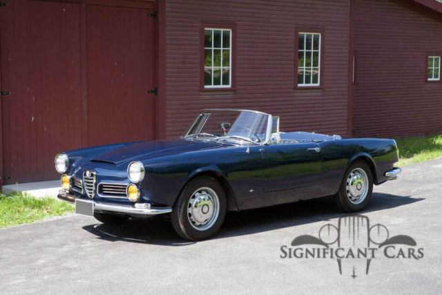 1969 alfa romeo 2600 spider by touring for sale photos. Black Bedroom Furniture Sets. Home Design Ideas