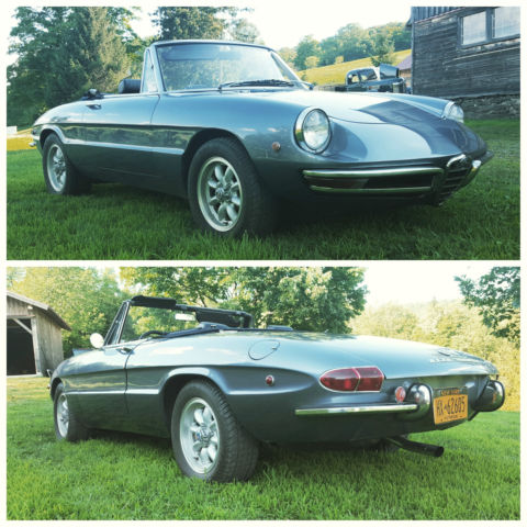 1969 alfa romeo spider 1750 duetto for sale photos technical