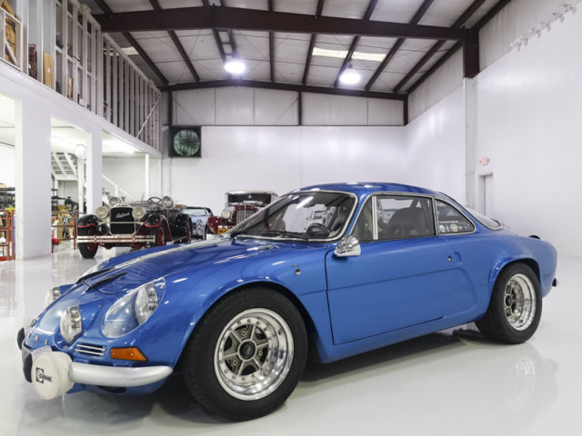 1969 Metallic Blue Renault A110 Dinalpin, RARE! BUILT BY DINA IN MEXICO! Coupe with Black interior