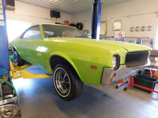 1969 Amc Javelin Sst New Paint Roller Factory 390 4 Speed