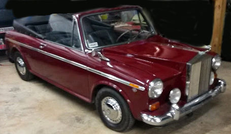 1969 Austin America Convertible Rolls Royce Jr For Sale