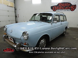 1969 Volkswagen Squareback Runs Drives Body Fair Interior Good Needs TLC