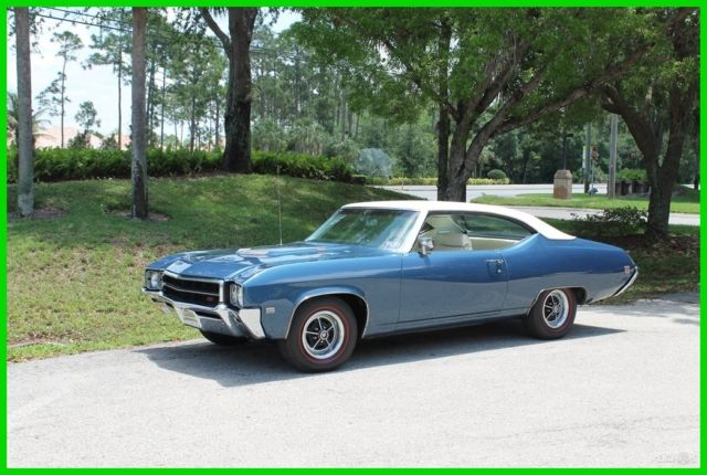 1969 Buick GS 400 V8 Skylark 69 Grand Sport Muscle Car Air Condition Bucket Seat