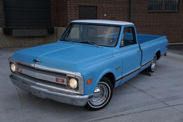1969 C10 C20 Pick Up Truck 5 3l Ls Swap Manual 1968 1967