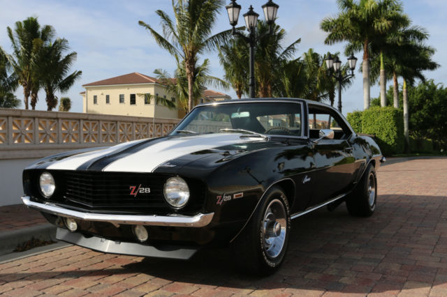 Used Cars Fort Myers >> 1969 Camaro Black Z28 for sale: photos, technical specifications, description