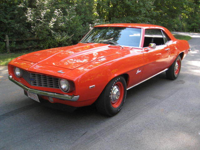 1969 Chevrolet Camaro all brand new