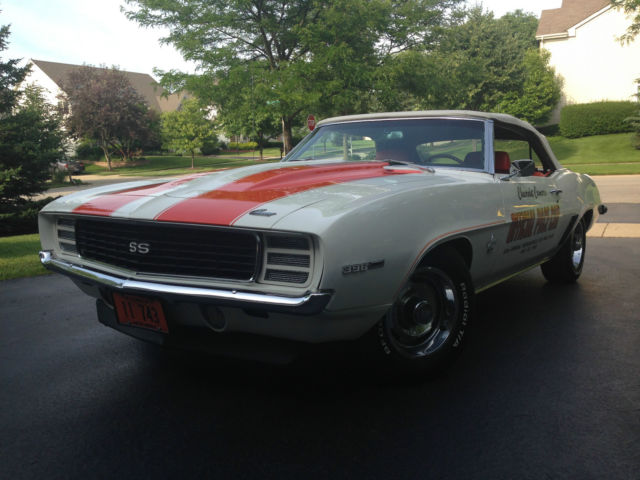 1969 Chevrolet Camaro Z11 396 Indy Pace Car Rally Sport / Super Sport