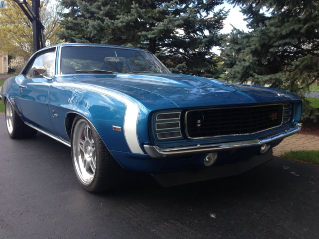 1969 camaro rs ss pro touring for sale photos technical specifications description. Black Bedroom Furniture Sets. Home Design Ideas