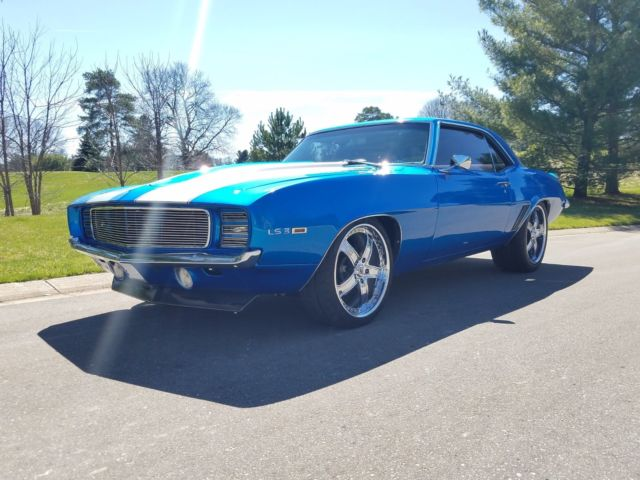 1969 Camaro Rs Ss Ls3 Restomod Protouring For Sale Photos