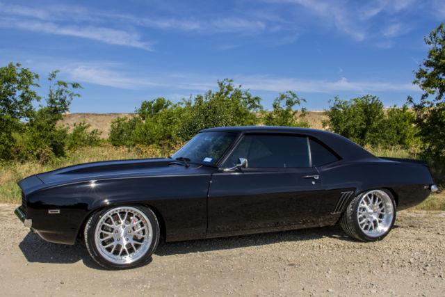 1969 CAMARO RS/SS RESTOMOD TWO-TONE BLACK, CUSTOM INTERIOR ...