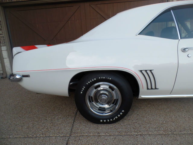 1969 Camaro Rs Ss Z10 Pace Car Coupe Rare For Sale