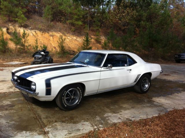 1969 Camaro X11 350 V8 Hot Rod Muscle Car Ss Rs Super Sport 1968