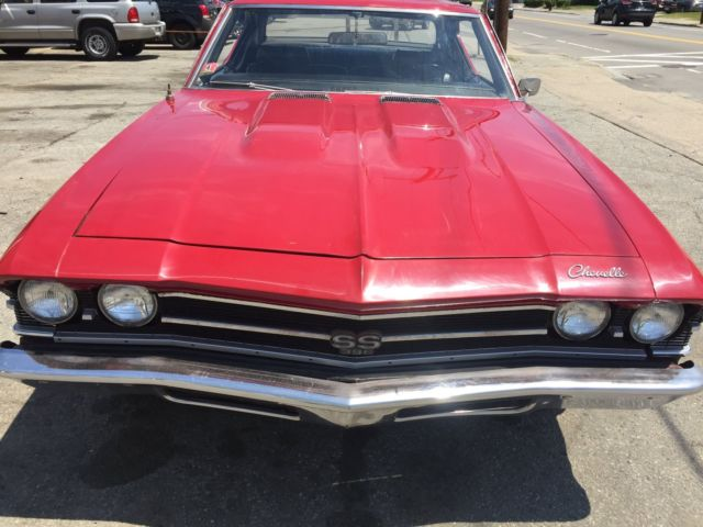 1969 Chevelle SS 396/375hp, matching number L78, 4-spd