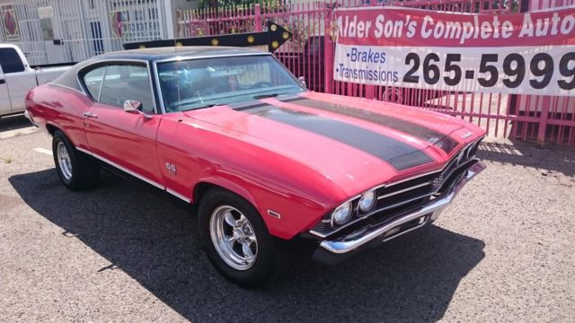 1969 Chevrolet Chevelle malibu sports coupe