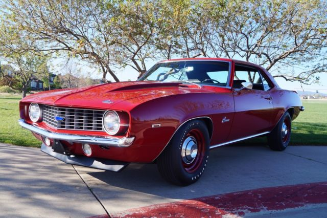 1969 Chevrolet Camaro Copo Tribute Award Winning Insane High End