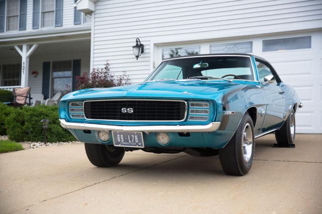 1969 Chevrolet Camaro Rs Ss 396 375 Rare For Sale Photos