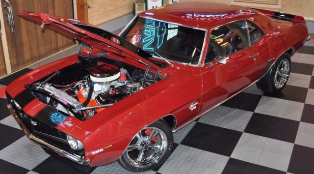 1969 Chevrolet Camaro SS 468 M22 4-Speed Restomod MUST SELL NO RESERVE!
