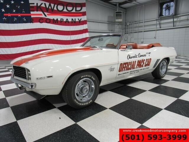 1969 Chevrolet Camaro SS Convertible Indy Pace Car 350 V8 Automatic NICE
