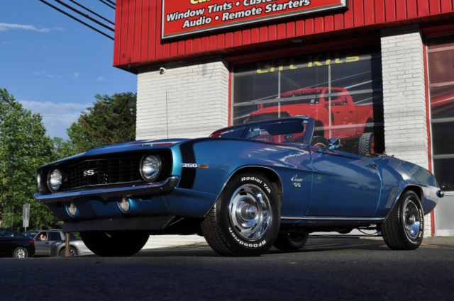 1969 Chevrolet Camaro SS Convertible Lemans Blue MUST SELL! NO RESERVE!!