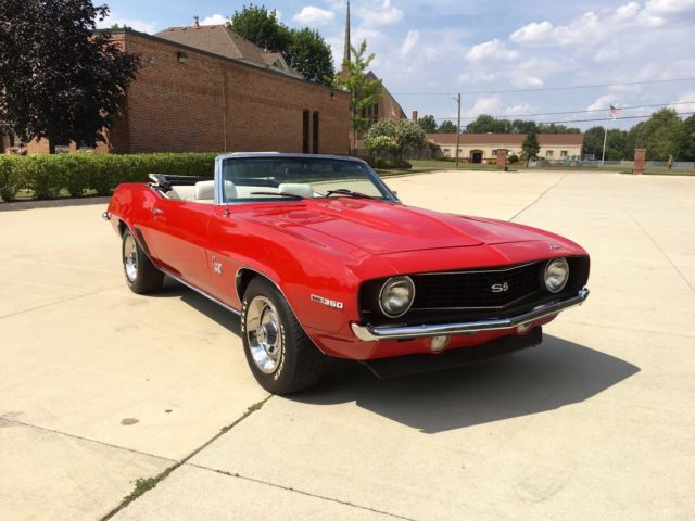 1969 Chevrolet Camaro Red