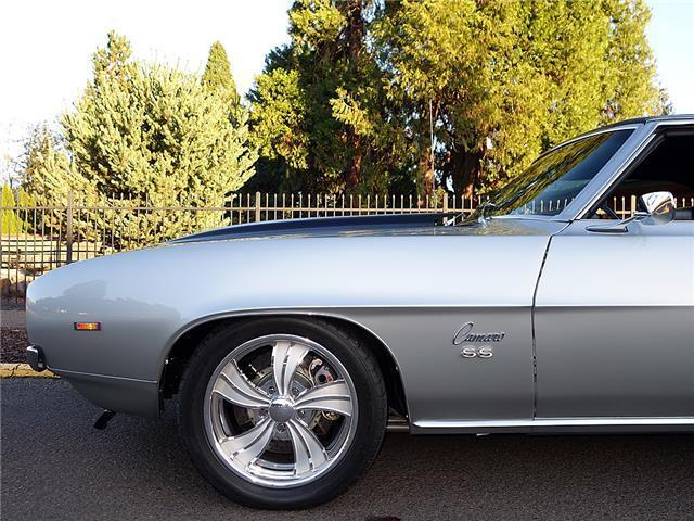 1969 Silver Chevrolet Camaro SS N/A with Black interior