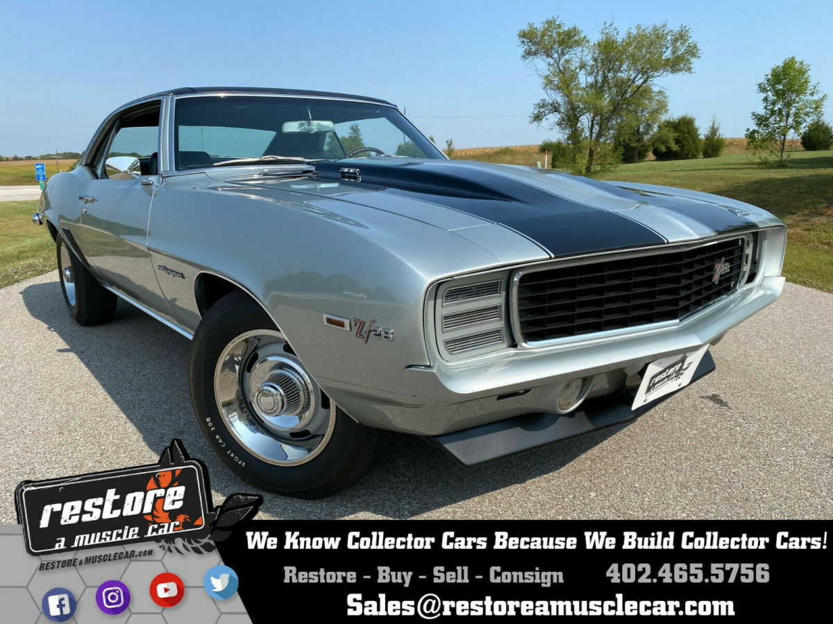 1969 Chevrolet Camaro Z28 with RS Option, 302ci - 4 Speed, 49k Miles