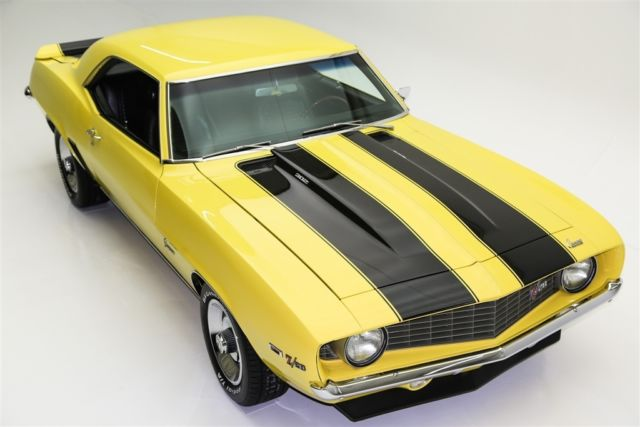 1969 Chevrolet Camaro X33 Daytona Yellow