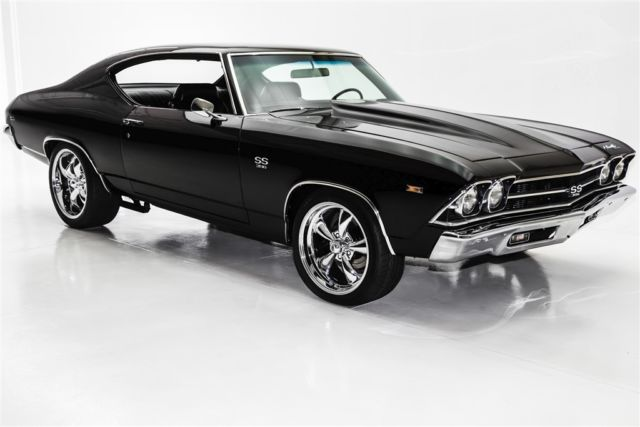 1969 Chevrolet Chevelle Black Beast! 496/450hp 12 Bolt