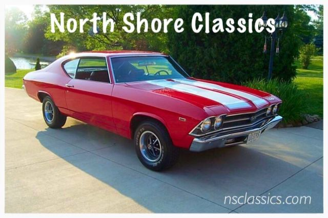 1969 Chevrolet Chevelle Documented Canadian Built REAL SS396-L35 Real Supe