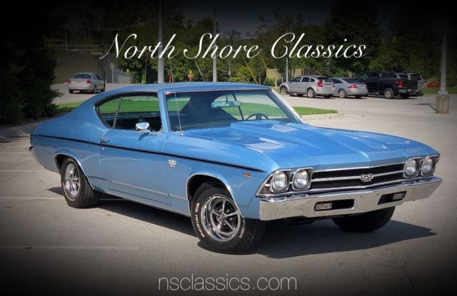 1969 Chevrolet Chevelle -SS396 Hurst 4 Speed-Factory Tach-SEE VIDEO