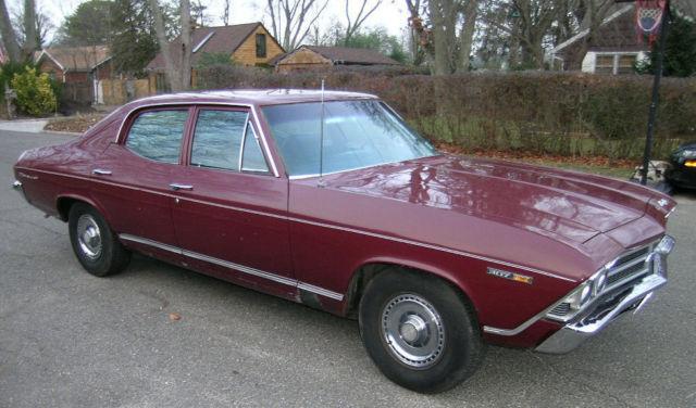 1969 Chevrolet Chevelle Malibu For Sale: 1969 Chevrolet Chevelle Malibu Sedan 4-Door 5.0L For Sale