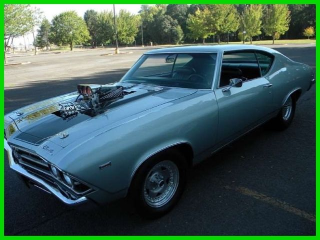 1969 Chevrolet Chevelle Pro Street & Enclosed Trailer
