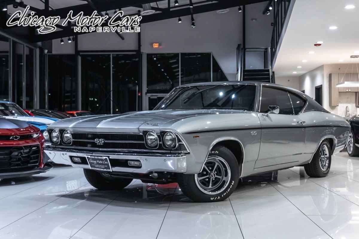 1969 Chevrolet Chevelle NUMBERS MATCHING! 396CI RESTORED! FACTORY A/C!