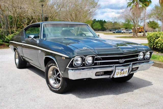 1969 Chevrolet Chevelle SS Tribute Factory A/C PS PB