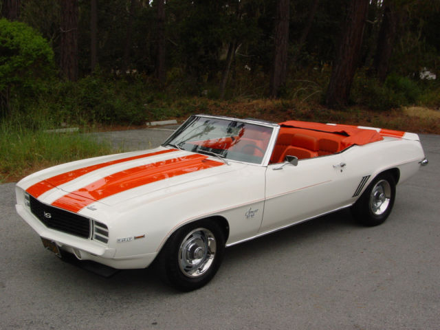 1969 Chevrolet Chevy Camaro Indy Pace Car Rs Ss For Sale