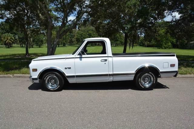 1969 Chevrolet C K 10 Series C10 6 154 Miles White Pickup
