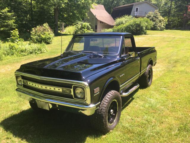 1969 chevrolet c k10 truck 4x4 frame up resto mod ls engine shot bed for sale photos technical. Black Bedroom Furniture Sets. Home Design Ideas