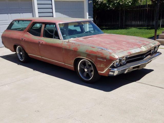 1969 chevelle wagon for sale
