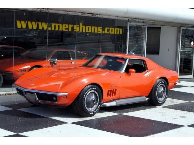 1969 Chevrolet Corvette Coupe 427 390hp 4 Speed Monaco