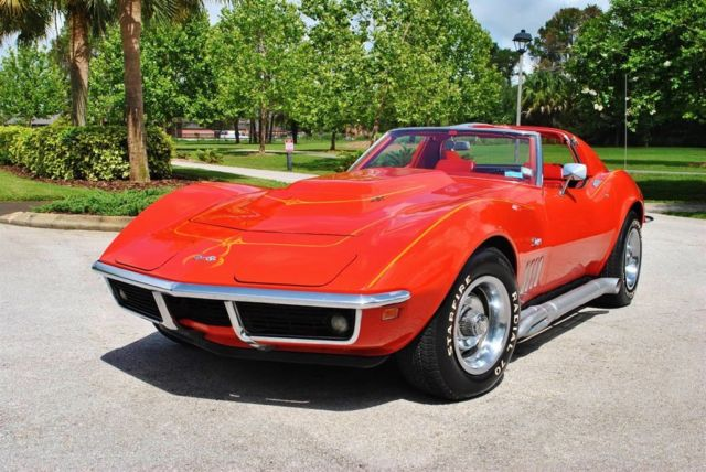 1969 Chevrolet Corvette Numbers Matching 427/390hp 4-Speed Survivor! Rare
