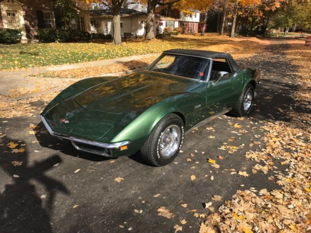 1969 Chevrolet Corvette Stingray 350 Numbers 4 Sd Convert