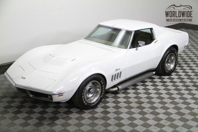 1969 Chevrolet Corvette STINGRAY New 350 V8! 4 SPEED!