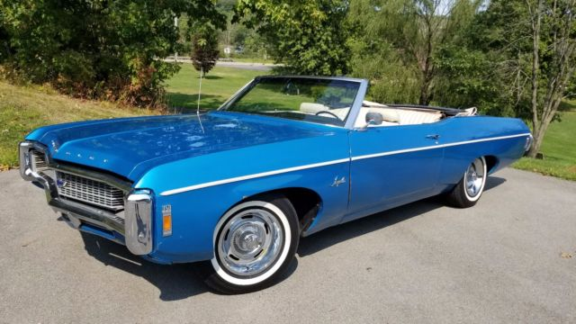 1969 Chevrolet Impala Convertible 69 Chevy Convert Matching Numbers Car