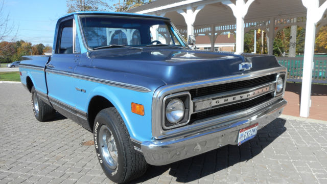 1969 Chevrolet C-10 NO RESERVE AUCTION - LAST HIGHEST BIDDER WINS CAR!