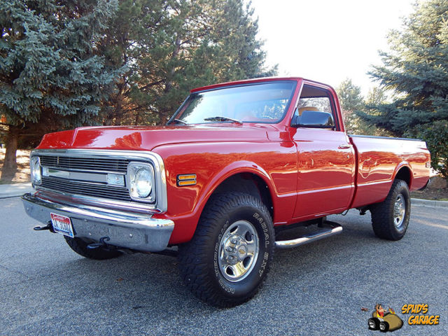 1969 Chevrolet C/K Pickup 2500 Custom 4x4 Conversion