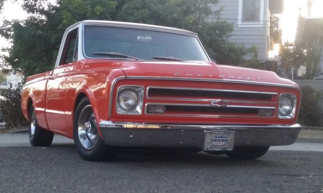 1969 Chevrolet C-10 shortbed fleetside