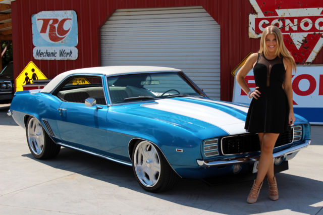 1969 Chevy Camaro Rs 350 Vintage Heat Ac Ps Pdb Mach Pulleys Auto Trans Air For Sale Photos