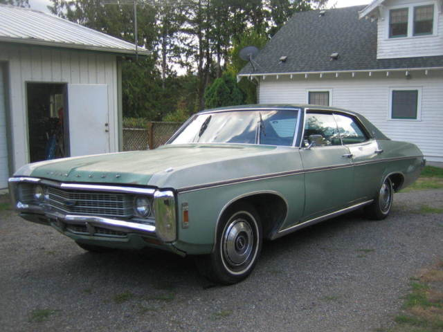 1969 chevy caprice sedan for sale photos technical specifications description. Black Bedroom Furniture Sets. Home Design Ideas